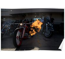 FLAME THROWER  Poster