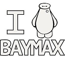 We all heart Baymax Photographic Print