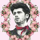 Zayn in Pink Flowers by LisaBuchfink