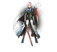 Final Fantasy Lightning Returns - Lightning (Claire Farron) Photographic Print