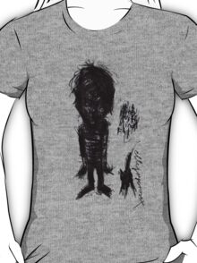 'Boy with Blind Cat' T-Shirt