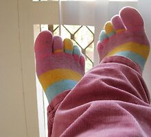 Toe Socks by Lunchbox