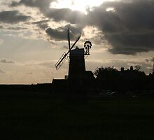 Windmill Silhouette by cappa