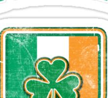 Ballynahinch, Ireland with Shamrock Sticker
