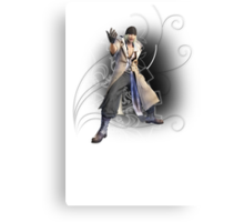 Final Fantasy XIII - Snow Villiers Canvas Print