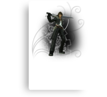 Final Fantasy Dissidia - Squall Leonhart Canvas Print