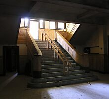 administration stairwell by rob dobi