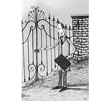 The Confession of Jacob Molar Photographic Print
