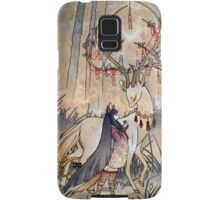 The Wish - Kitsune Fox Deer Yokai Samsung Galaxy Case/Skin