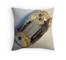 Photograph of my Microwaved Mutant Gameboy Advance Throw Pillow