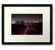 Port Authority Destruction (A) Framed Print