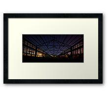 Port Authority Destruction (B) Framed Print