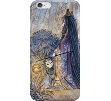 Silent Crossing - Kitsune Fox Yokai iPhone Case/Skin