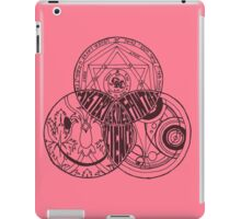 Superwholock Venn Diagram (Transparent) iPad Case/Skin