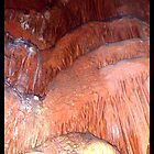 "Cascade     ""Caverns Series"" by Angelica Frances"