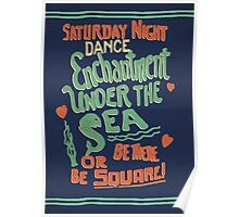 """Enchantment Under the Sea Dance"" Poster"