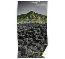 Causeway in Green Poster