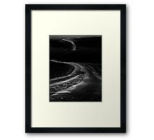 Long Winding Road  Framed Print
