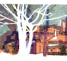 Argyle Street, Carlton by Roz McQuillan