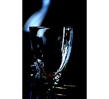 A glass without wine Photographic Print