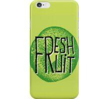 Kiwi fresh fruit illustration  iPhone Case/Skin