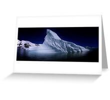 Fractured Berg Greeting Card