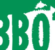 Abbott Proof Green Sticker