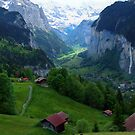 Lauterbrunnen, Late Afternoon by John Douglas