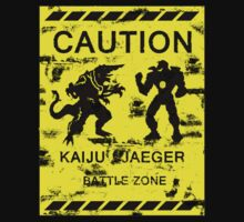 Kaiju / Jaeger Battle Zone by Eman! Arts and Illustration