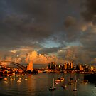 Silence Before The Storm - Moods of A City # 28 - Sydney Australia by Philip Johnson