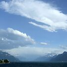 Lake Geneva From Vevey by John Douglas