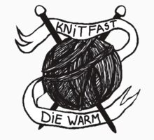 Knit Fast Die Warm Kids Clothes