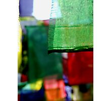 Abstract Prayer Flags 1  (Limited Edition Print of 50) Photographic Print