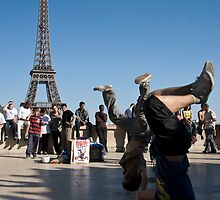 french break-dancing by jude walton