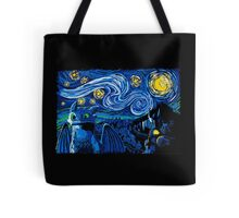 Starry Berk Tote Bag