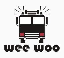 Firetruck Wee Woo Kids Clothes