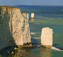 The Pinnacles & Old Harry by RedHillDigital