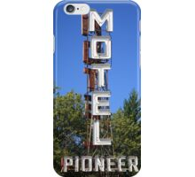 Route 66 - Pioneer Motel iPhone Case/Skin