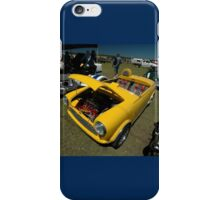 Little Yellow Taxi, Evans Head Fly-In, NSW iPhone Case/Skin