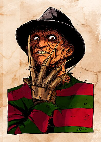 FREDDY IN COLOR by mrbones