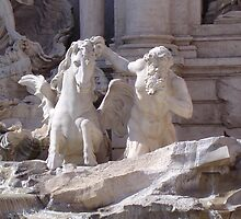 Trevi Fountain Rome by dmwarnman