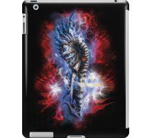 biomechanical mammoth in the cosmos iPad Case/Skin
