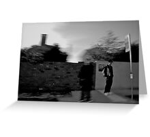Walking with Ghosts Greeting Card