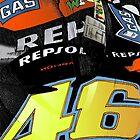 Valentino Rossi - Repsol Honda by quigonjim