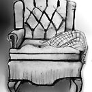 Sitting in an Easy Chair by cherie hanson