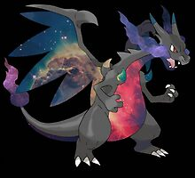 Galaxy Charizard by beatzy