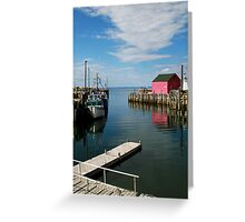 Clouds Point The Way Greeting Card