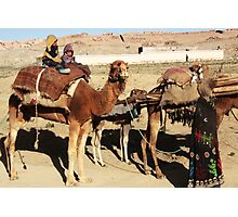 Family of wandering tribes (Afghanistan) Photographic Print