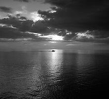 Headin' Home -  B/W by Dennis Jones - CameraView