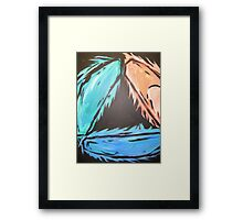 TRI PAINTING Framed Print